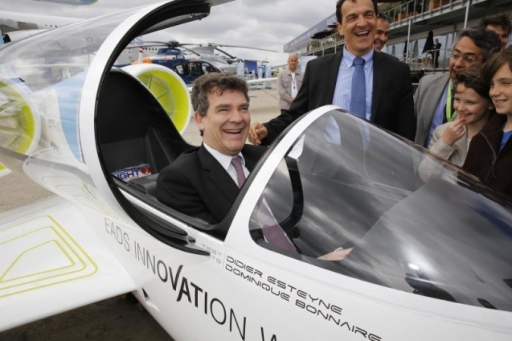 Arnaud Montebourg French Minister of Industrial Renewal_EADS